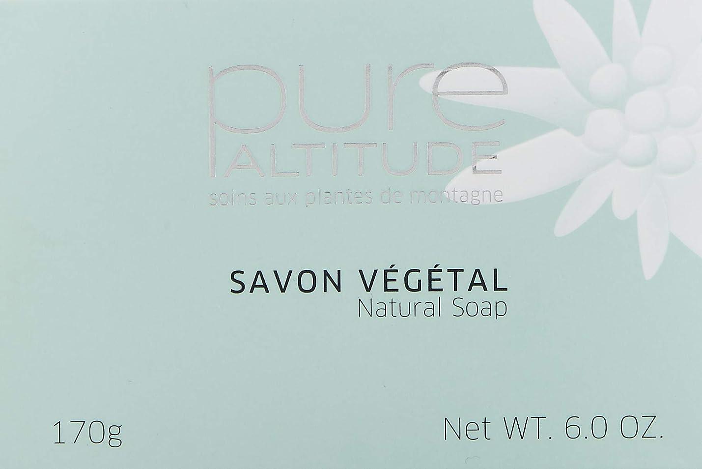 上無許可与えるPure(ピュール) SAVON VéGéTAL SENTEUR FLEURS DE NEIGE 170g