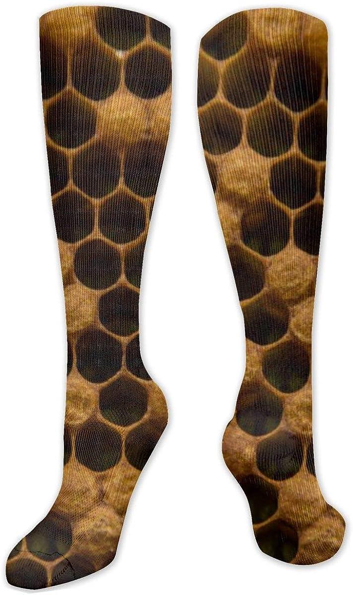 Honey Nest Knee High Socks Leg Warmer Dresses Long Boot Stockings For Womens Cosplay Daily Wear