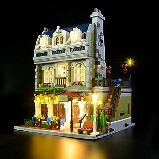 Led Lighting Light Set, for (Paris Restaurants) Building Blocks Model - Led Light Kit Compatible with Lego 10243(NOT Inclu...