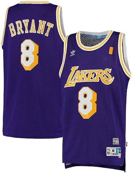 Amazon.com : adidas Kobe Bryant Los Angeles Lakers Purple ...