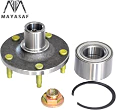 MAYASAF 518515 Brand New Front Wheel Hub and Bearing Assembly 5 lugs For 01-12 Ford Escape, 01-06 & 08-11 Mazda Tribute, 05-11 Mercury Mariner