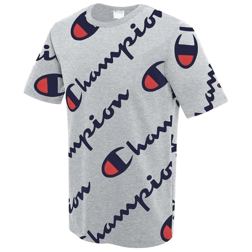 最も遠い職業アクセスできない(チャンピオン) Champion メンズ トップス Tシャツ Heritage Script T-Shirt [並行輸入品]