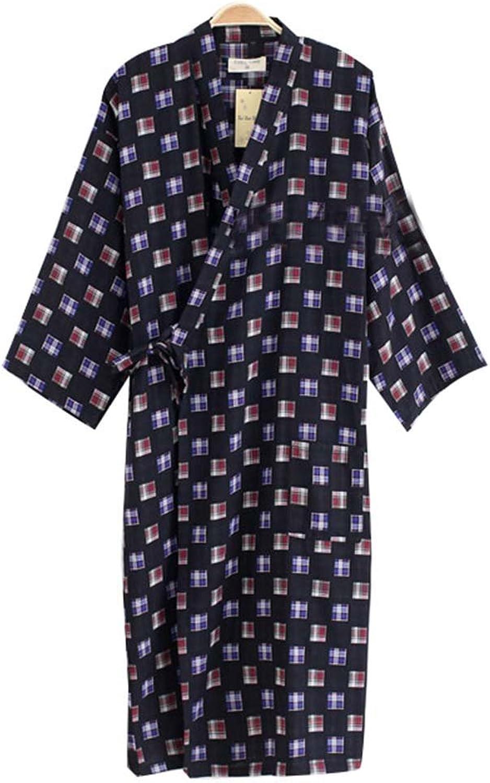 Men's Kimono Pajamas Khan Steamed Clothes Men's Bathrobes Kimono Robes