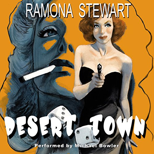 Desert Town audiobook cover art