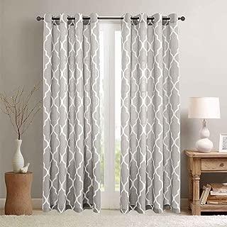 quatrefoil curtain panels