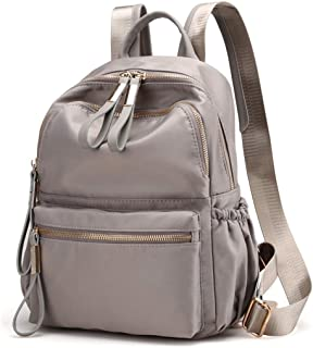 Qyoubi Women's Waterproof Oxford Small Fashion Backpack Purse School Girls Multipurpose Bag Casual Daypack