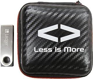 【日本正規品】Ledger Nano S (レジャー ナノS)仮想通貨ハードウェアウォレット ビットコイン イーサリアム リップル Less is More ケース付き