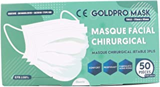 antireflet Aipaide 160 pi/èces Masques jetables Masques 4 couleurs boucle doreille pour m/édecin et infirmi/ère masque facial chirurgical avec /élastique sans latex