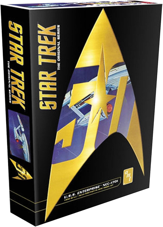 Round2 AMT947 12 1 650 Star Trek Classic USS Enterprise Plastikmodellbausatz, Modelleisenbahnzubehör, Hobby, Modellbau, Mehrfarbig B01CUNLCFQ Viele Sorten  | Genialität