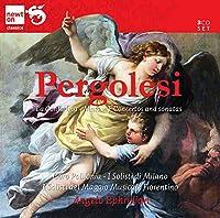ペルゴレージ:器楽作品とミサ曲(Pergolesi; La Contadina - Mass in F Conceros and Sonatas)[3CDs]