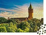 Museo de la banque de Luxembourg Rompecabezas para Adultos 1000 Pieza,Madera Rompecabezas de la Familia de que el Juego de la Colección de Juego Educativo de Arte para la Pared del Dormitorio de la D