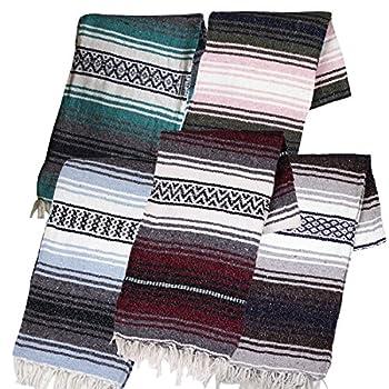 Canyon Creek Mexican Style Falsa Yoga Blanket  Mixed
