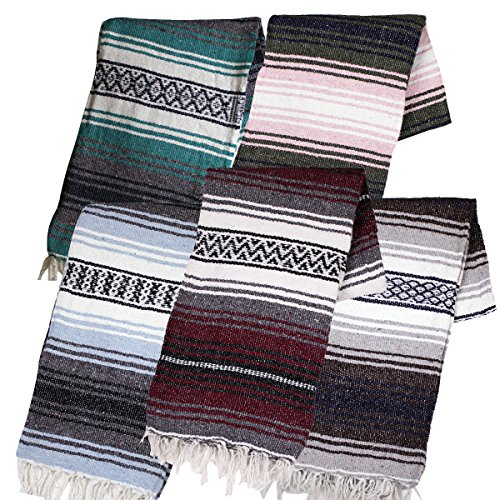 Canyon Creek Mexican Style Falsa Yoga Blanket (Mixed)