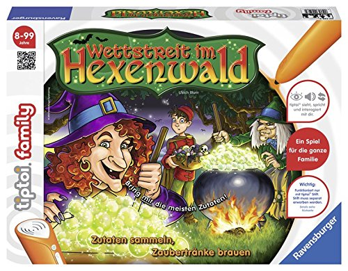 tiptoi® Wettstreit im Hexenwald: Zutaten sammeln, Zaubertränke brauen