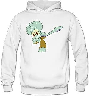 Women Dabbing Squidward Sweatshirt Hoodie Pullover