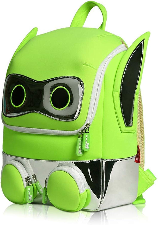 DRAWEER ART, Kinderrucksack Grün grün 32  25.5  10 B07P8QD96Y  Zu einem niedrigeren Preis