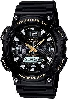 Casio Sport Watch Analog Display Quartz For Men Aq-S810W-1Bv, Black