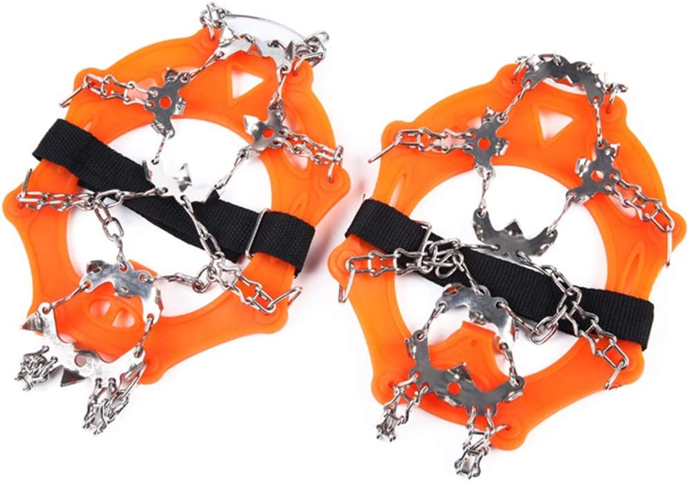 Traction Cleat High-Strength Universal Ice Sp Crampons Challenge the lowest price of Japan El Paso Mall