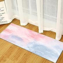 Kitchen Entrance Doormat Blue Pink Bedroom Bedside Decoration Floor Mat Children's Hallway Balcony Bathroom Rug Home Livin...