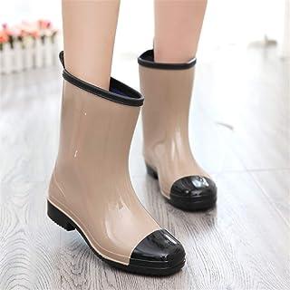6b92ee37b81 Amazon.com: Orange - Rain Boots / Rain Footwear: Clothing, Shoes ...