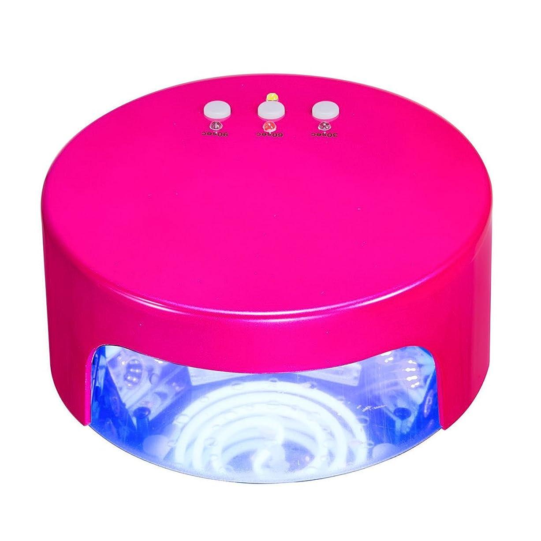 重くする泥棒クラブネイル光線療法機 ネイルドライヤー - 誘導時間ケーキ形状の36wLEDネイル光線治療マシン