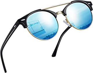 Vintage Round Sunglasses for Women Retro Brand Polarized...