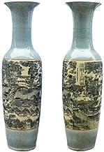 DPWH Ceramic jewelry/落地大花瓶摆件 (Color : 1.2m)