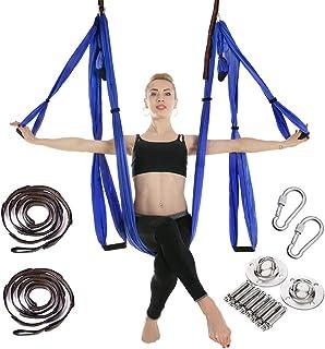 comprar comparacion MANLI Hamaca de Yoga Tafetán de Nailon Antigravedad Swing Sling Inversión para Pilates Gimnasia con 664lb Carga