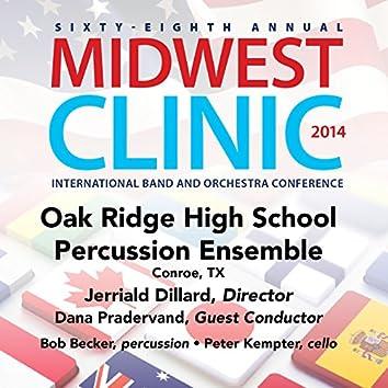 2014 Midwest Clinic: Oak Ridge High School Percussion Ensemble (Live)