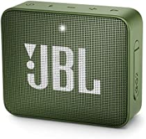 JBL GO2GRNAM GO2 Waterproof Ultra Portable Bluetooth Speaker - Green