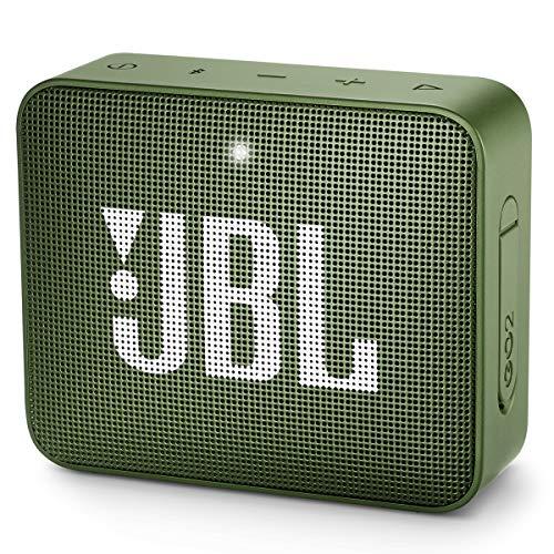 JBL GO2 – Alto-falante Bluetooth ultra portátil à prova d'água – Verde