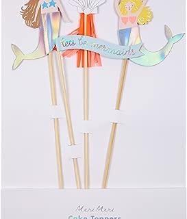 meri meri mermaid cake topper