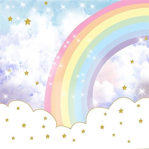 Rainbow Backdrop: Amazon.com