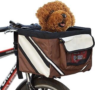 Torba na rower dla zwierząt Puppy Dog Cats Small Animal Travel Fotelik rowerowy na piesze wycieczki Akcesoria do koszy row...