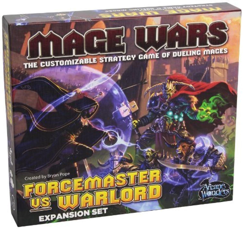 precios razonables Mage Wars Forcemaster vs. Warlord Expansion Expansion Expansion Board Juego by Arcane Wonders  las mejores marcas venden barato