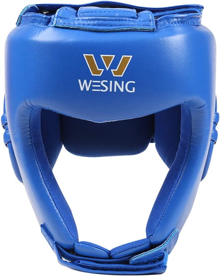 discount Wesing AIBA Finally popular brand Boxing Headgear Comeptition Professional Kickboxing