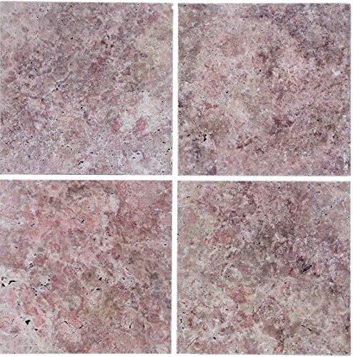 Fliese Travertin Naturstein rot Fliese Rosso Antique Travertin MOSF-45-46123