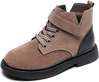 LS Children's Martin Boots, Boy's Winter High-top Boots, Cotton And Velvet Mid-sized Children's Boots