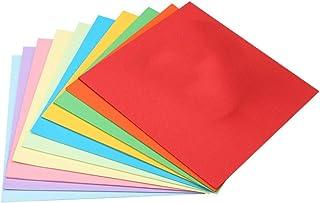 SKY 折り紙 おりがみ 千羽鶴キット 単色 両面 千羽鶴 両面おりがみ 和紙 おしゃれ 大きい 25cm角 10色 100枚入