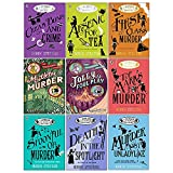 A Murder Most Unladylike Mystery Series 9 Books Collection Set by Robin Stevens (Murder Most Unladylike,Arsenic For Tea,First Class Murder,Jollyfoul Play,Mistletoe and Murder,Top Marks For Murder..