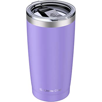 Cupbase Drinkware Camping Traveling 24 20 Oz Tumbler-Rambler Double Wall Vacuum Insulated Coffee Mug Thermal Coffee Travel Cup for Hiking Stainless Steel Water Lid Water Bottle-Gifts for Her