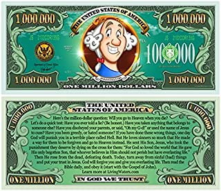 Kids Million Dollar Bill Tract (20 Pack) Pamphlet