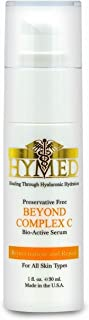 Hylunia Beyond Complex C - 1.0 fl oz - Anti-Aging for Wrinkles - with Hyaluronic Acid Serum, Retinol, Zinc - Natural Vegan Moisturizer - Rapid Skin Repair