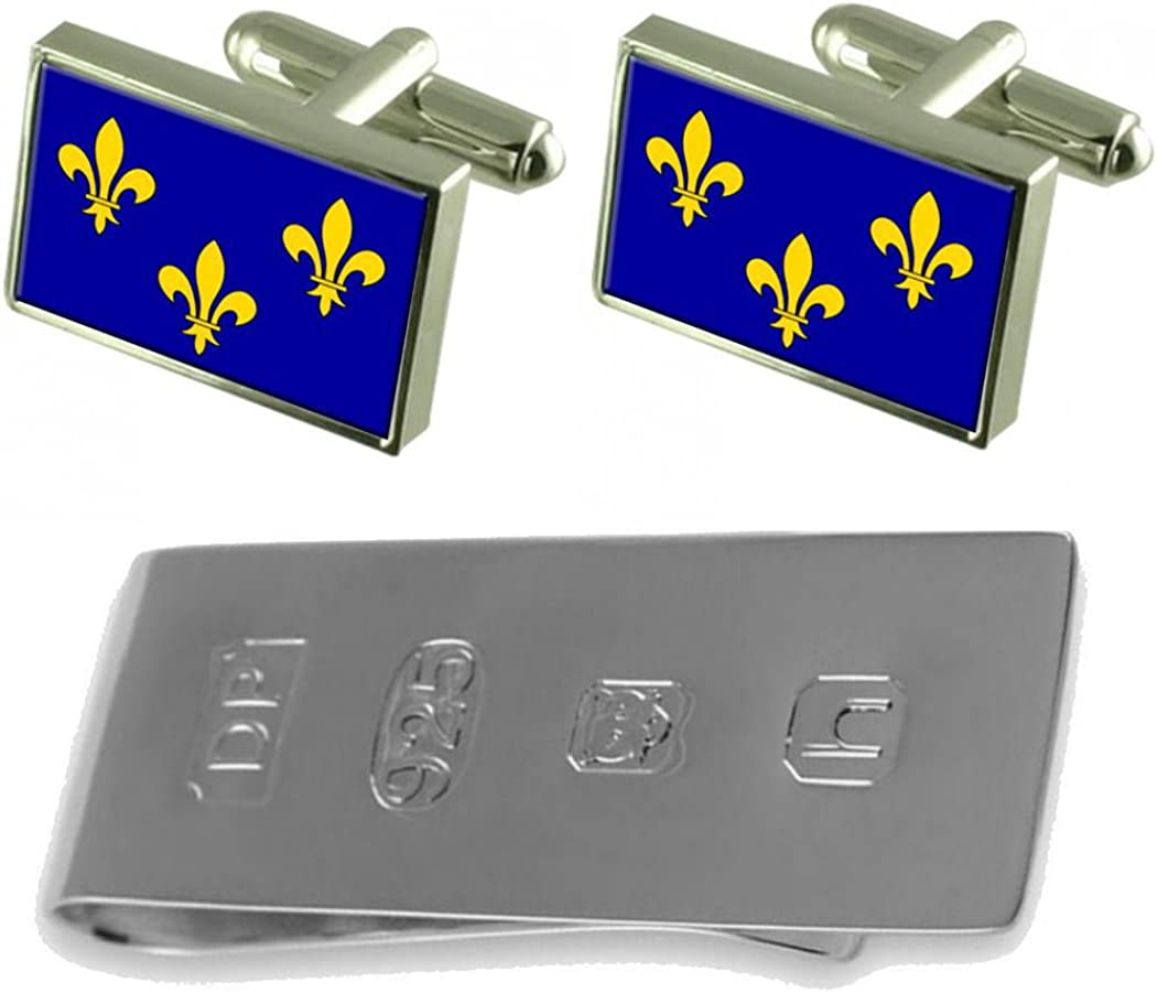 Select quality assurance Gifts ILE-De-France Max 52% OFF Province France Jame Flag Cufflinks