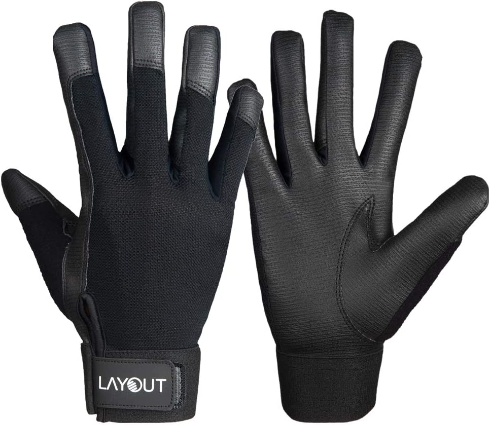 Layout Ultimate Frisbee Gloves - Friction and 100% quality warranty! Grip Safety trust E to