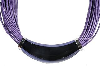 scarlet bijoux - catena con tubi element in diversi colori