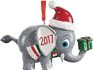 HOLIDAY PEAK Personalized Christmas Elephant Ornament