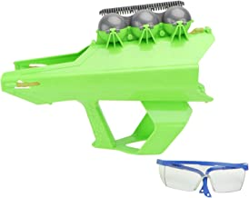 Bestonzon Winter Snowball Fight Kit Snowball Launcher Cannon with Goggle Water Balloon Launcher Toy for Outdoor Kids Playt...