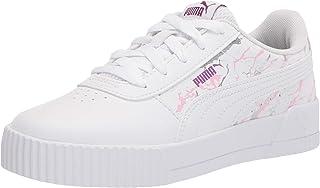 PUMA Girls Carina Sneaker, White White
