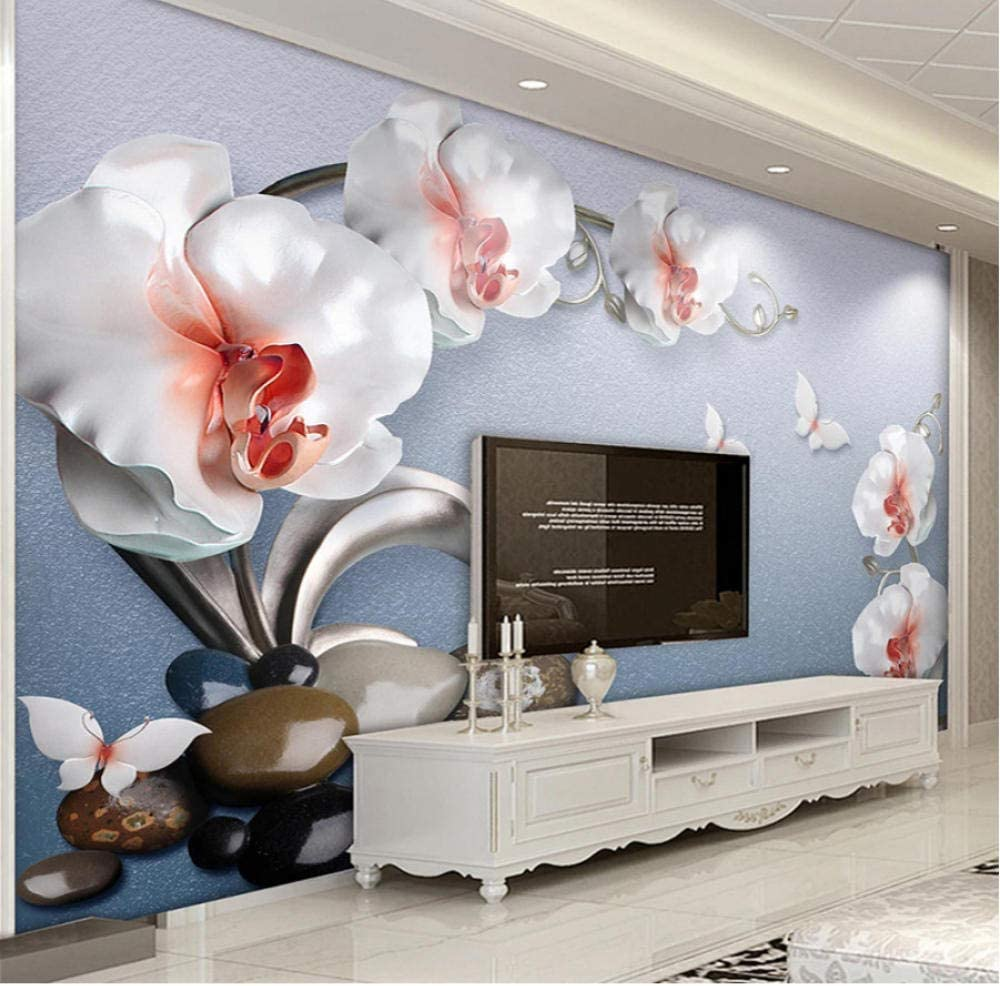 Clhhsy Custom Mural Wall Painting Our shop OFFers the shop best service Relief Bu Wallpaper 3D Flowers
